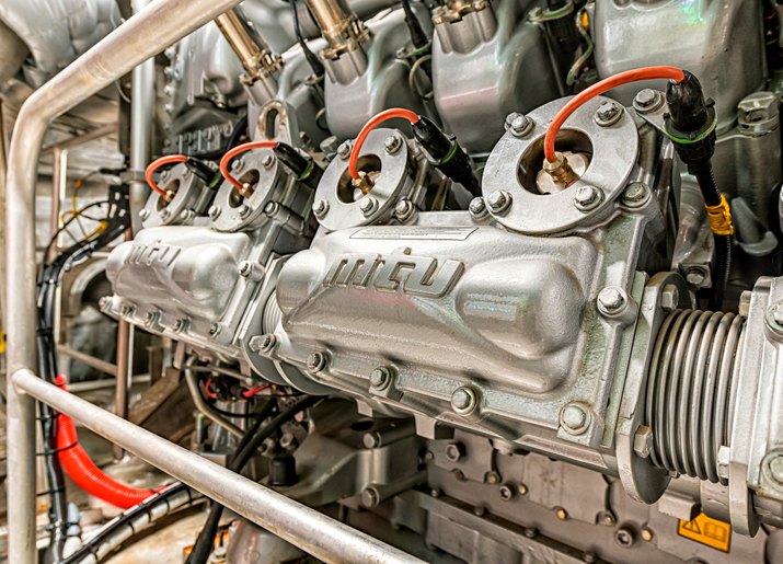 Premiere for Rolls Royces first MTU gas engines in new Doeksen ferry 4 web