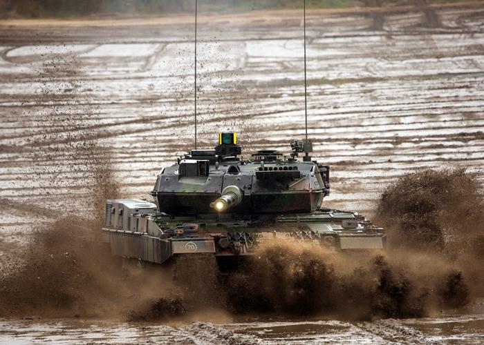 Aktiver Rundum-Schutz für den Kampfpanzer Leopard 2