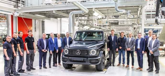Neuerfindung einer Offroad-Ikone: Produktionsstart der neuen Mercedes-Benz G-Klasse in Graz