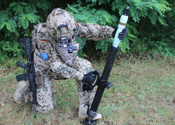 Zwei in einem – Rheinmetalls neuer 60mm-Mörser RSG60 für Infanterie und Spezialkräfte