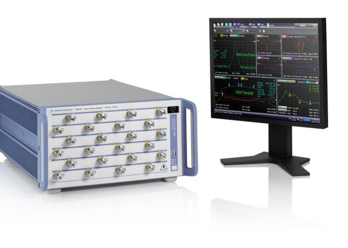 Rohde & Schwarz präsentiert Vektor-Netzwerkanalysatoren mit Mehrtorarchitektur für Messungen von 100 kHz bis 40 GHz