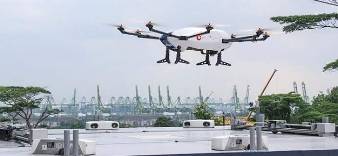 Airbus completes first flight demonstration for its commercial parcel delivery drone 'Skyways'