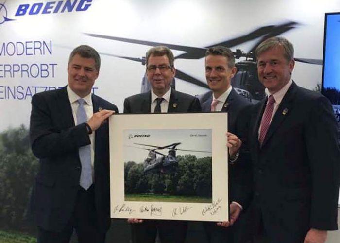 Boeing und die ESG kooperieren im Wettbewerb um den neuen Schweren Transporthubschrauber der Bundeswehr