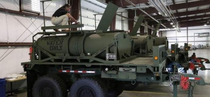 WEW part of winning team to deliver further Camel II Unit Water Pods to US Army