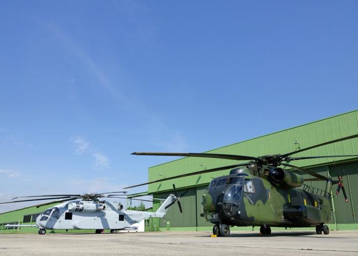 Schwerer Transporthubschrauber: Sikorsky und Rheinmetall bauen deutsche Industriepartnerschaft zur CH-53K aus