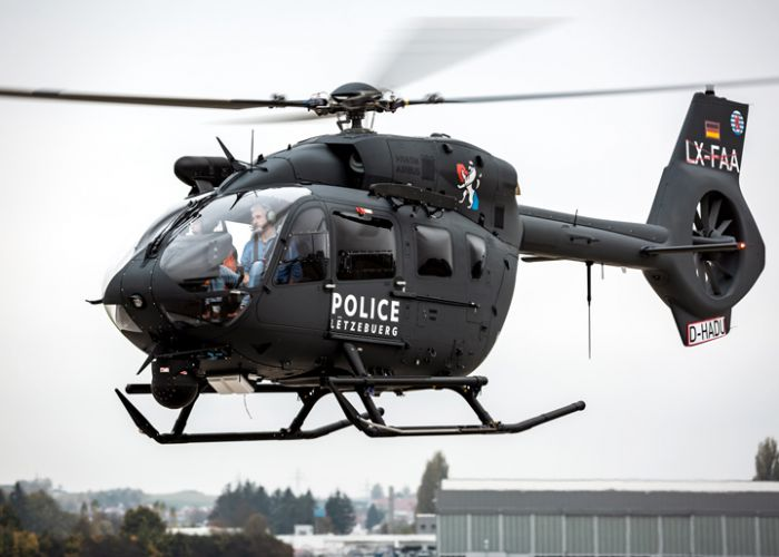 Airbus Helicopters delivers first H145M to Luxembourg