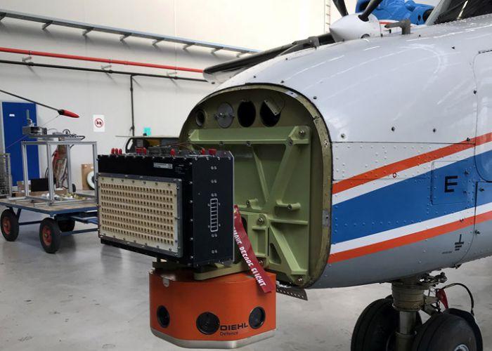 Konsortium demonstriert Kollisionswarnsensoren für Drohnen