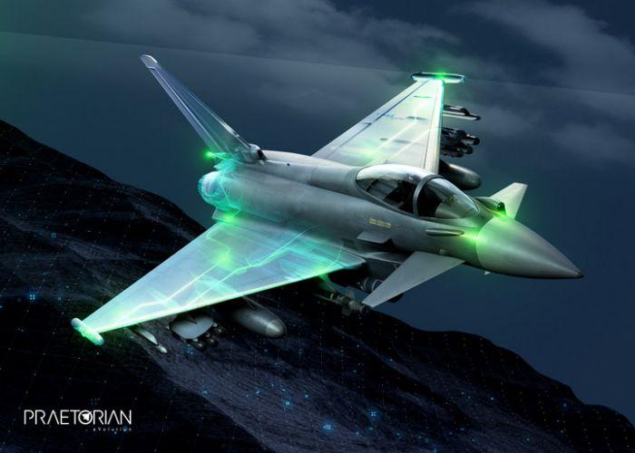EuroDASS-Konsortium präsentiert Konzept für künftiges Eurofighter-Selbstschutzsystem