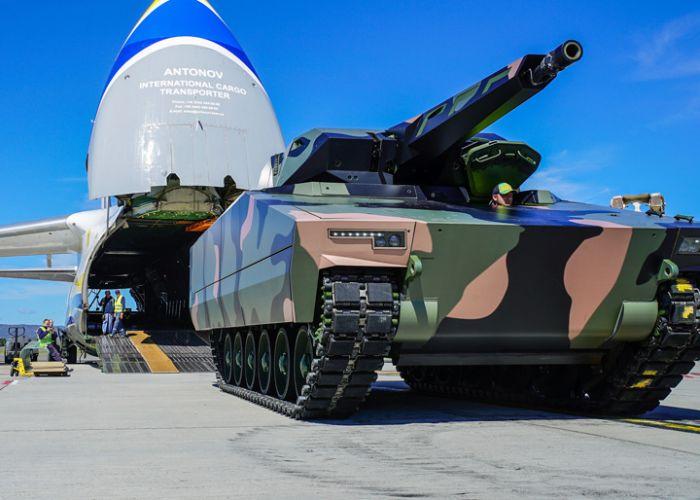 Rheinmetall-Schützenpanzer Lynx KF41 für Erprobungsphase der australischen Streitkräfte ausgewählt