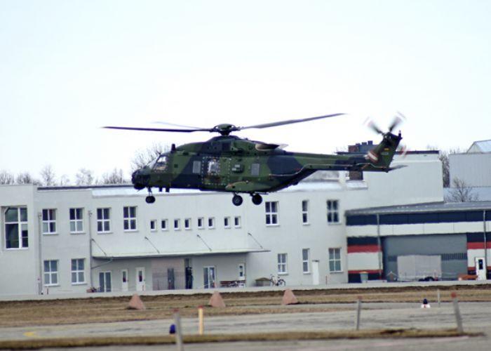 RUAG schließt erste NH90-Inspektion in Oberpfaffenhofen erfolgreich ab
