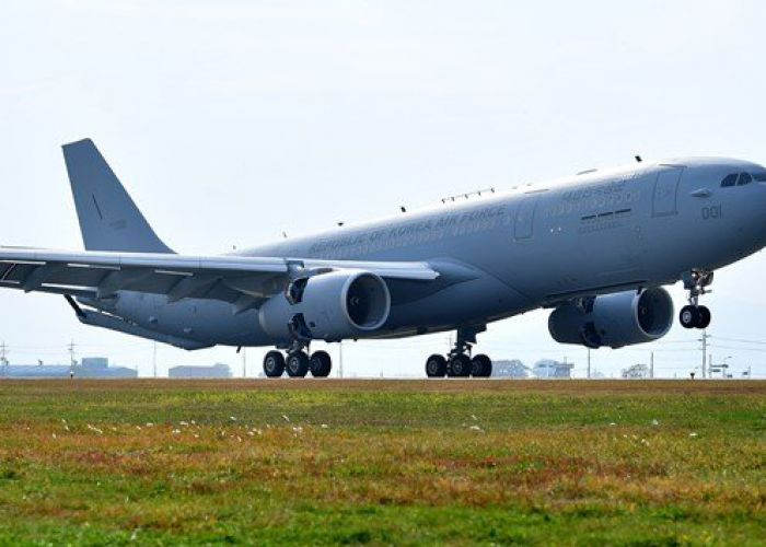 Republic of Korea Air Force receives first Airbus A330 MRTT