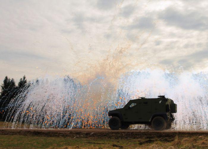 Zwei weitere NATO-Staaten beschaffen Schnellnebelschutzsystem ROSY von Rheinmetall