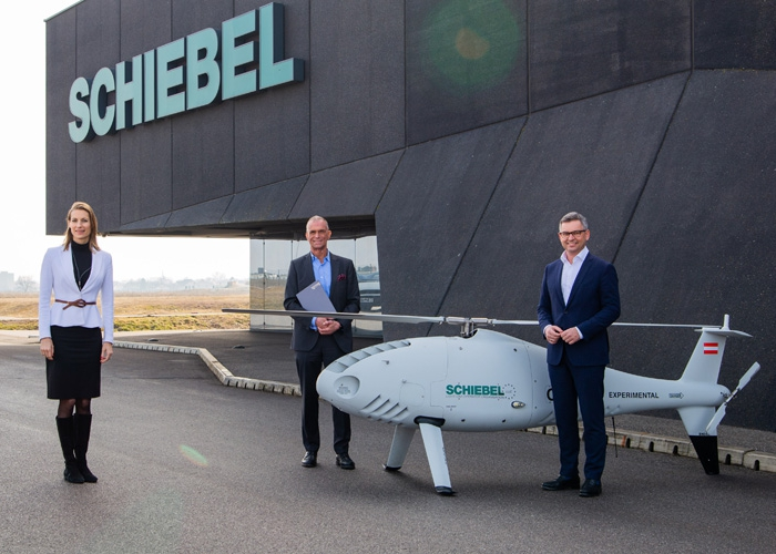 Schiebel first UAS operator in Europe to receive LUC from Austro Control