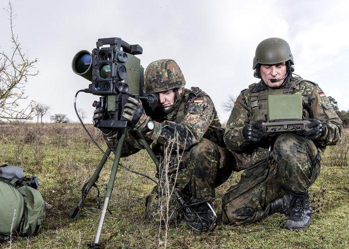 German Army performs European SPIKE firing campaign