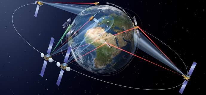 SpaceDataHighway: 10.000 erfolgreiche Laserverbindungen mit 99,8 Prozent Zuverlässigkeit