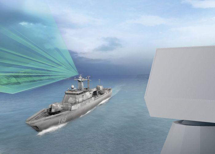 HENSOLDT liefert Schiffsradar für deutsche Korvetten