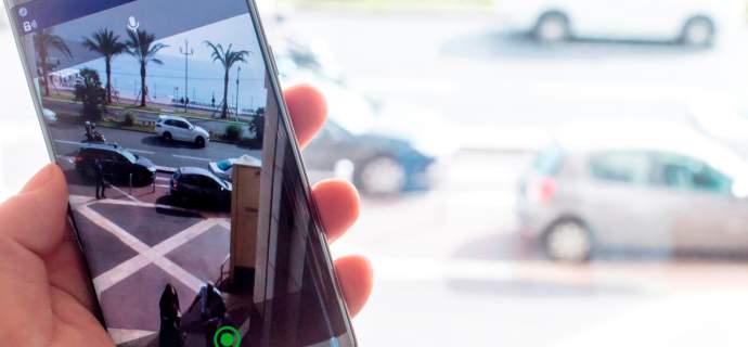 Airbus App Tactilon Agnet zeigt den sicheren Blick von oben