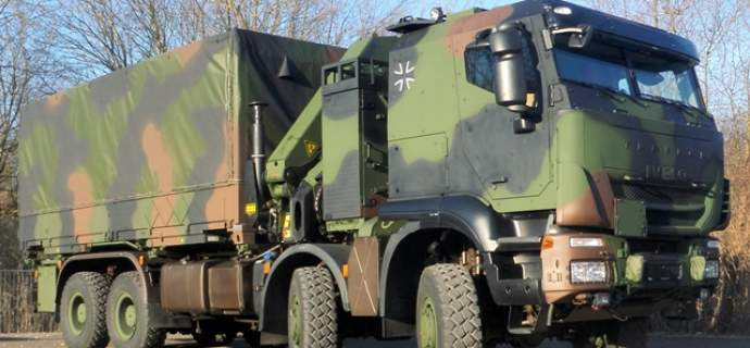Iveco Defence Vehicles delivers the hundredth Trakker GTF 8x8 to the Bundeswehr