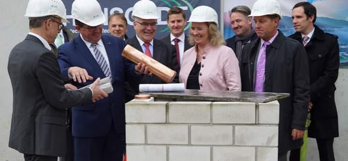Hauptsitz für Forschung und Führung: HENSOLDT legt in München Grundstein für seine Zukunft