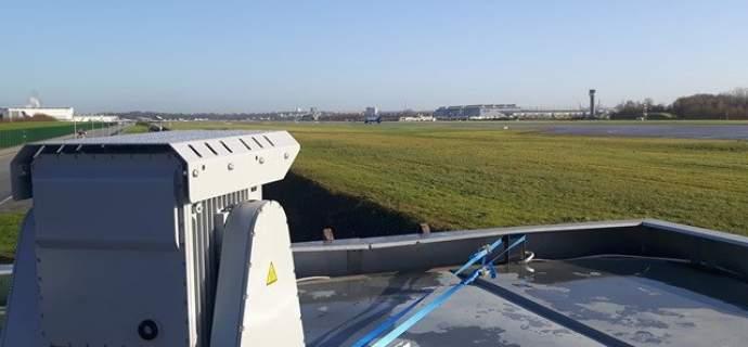 HENSOLDT demonstriert erfolgreich die Abwehr von Drohnen