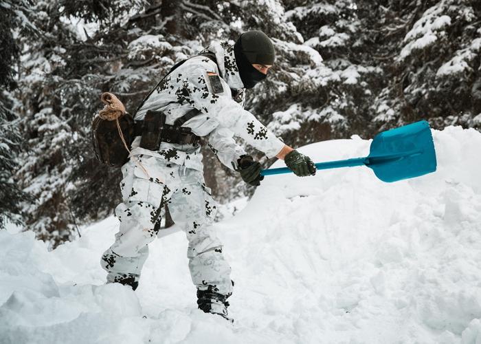 Überleben im Hochgebirge – Reichenhaller Jager üben den Winterkampf