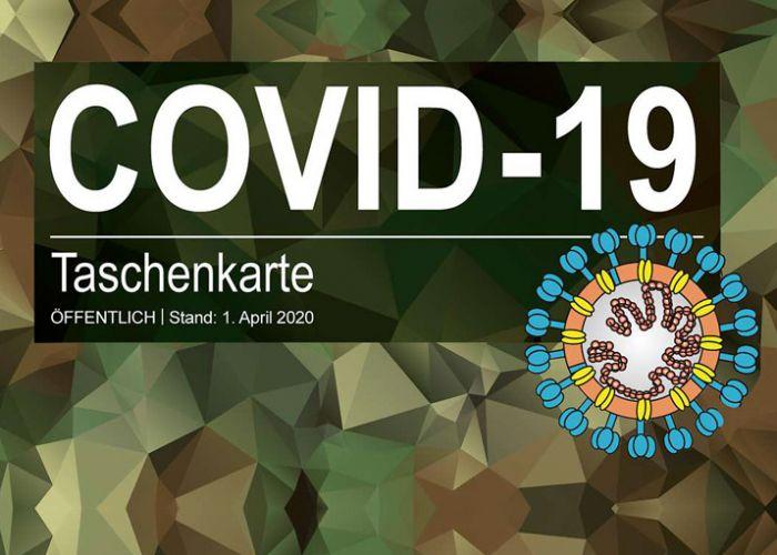 Taschenkarte COVID-19: Eine Handlungshilfe für Bundeswehrangehörige